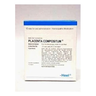 Placenta compositum Oral Vials