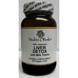 Liver Detox, with Milk Thistle